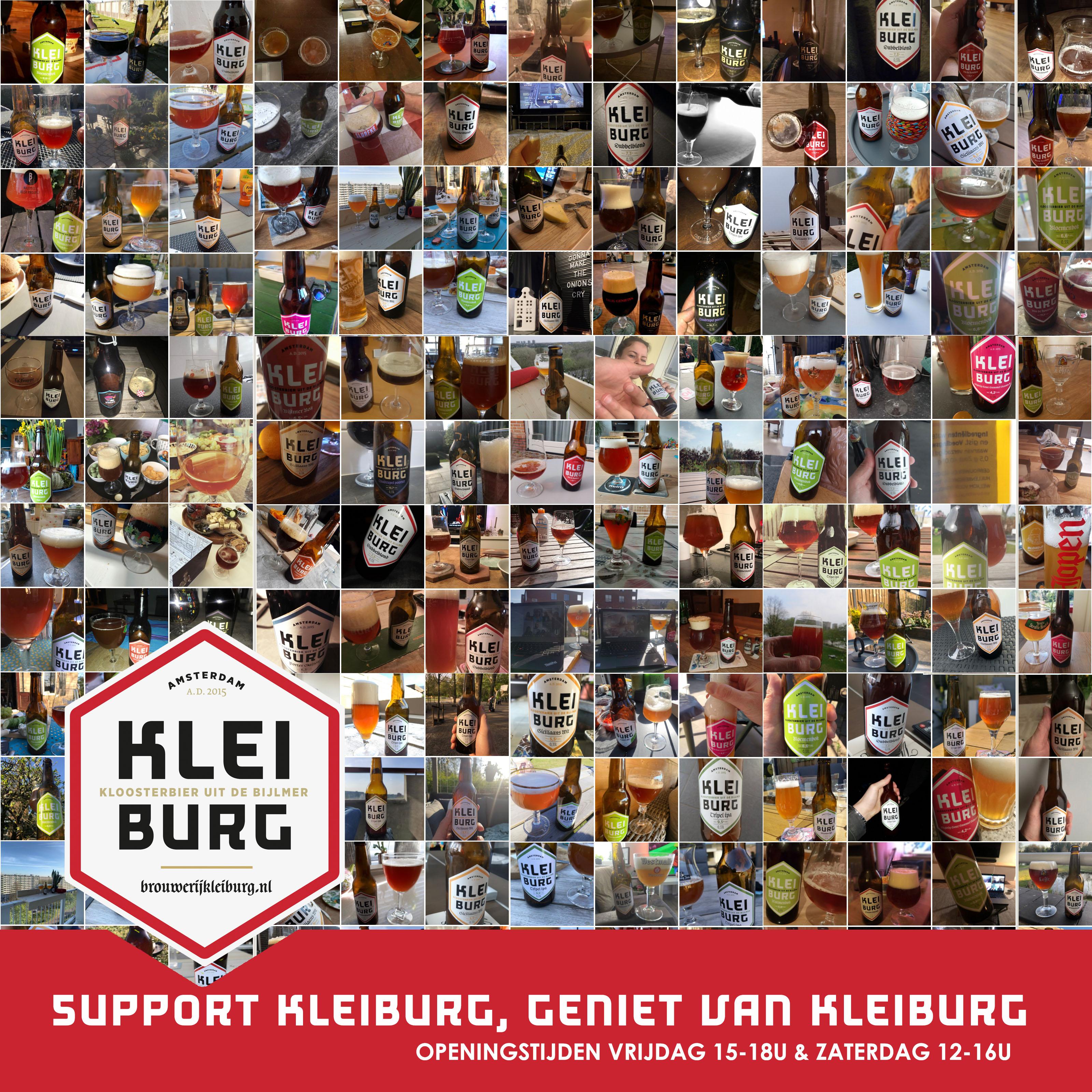 Support Kleiburg, bestel Kleiburg! (support actie is afgelopen)
